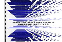 HCC College Archives / The College Archives holds material that documents HCC's governance and administration, its student life and cultural contributions, and the development of the College's buildings and grounds. / by Harford Community College Library