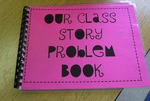 Math- word problem book / by Angie Flynn