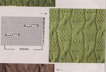 pletení-vzory+návody