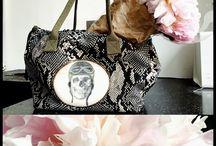 COLOUR SCHEME: bag & blooms