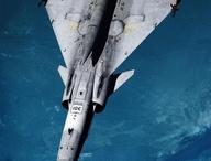 Fighter jets.