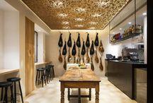 Architecture : Magasins, restaurants, hotels...