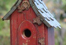 Birdhouses ... budky, klece, voliery pro ptáky