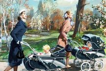 1950s Kids / Babies, Toddlers, Kids, Parenting, School, Clothing, Toys, Ads,