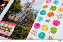 Disney Page Collection / Scrapbooking, Disney