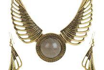 Cinderella Angel Wings Necklace Set
