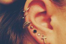 piercing & earring