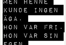 Swedish quotes ♥