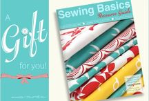 for sewing beginners / by Samantha Howard