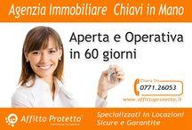 Agenzia Immobiliare Chiavi in mano / Apri la tua agenzia immobiliare Affitto Protetto in soli 60 giorni.