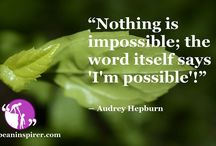 Inspirational Quotes / Be An Inspirer - Spread the Inspiration   Visit - www.beaninspirer.com for more.