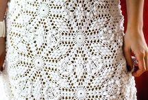 vestido de noiva crochê