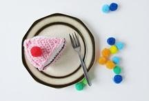 Haken/crochet snoep/taartjes