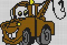 Haft krzyżykowy - Auta Disney / Cross Stitch - Cars Disney