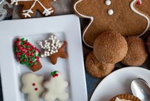 Xmas treats / Gingerbread man biscuits
