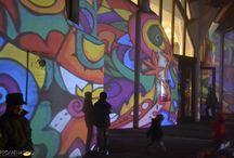 Héttorony fesztivál - Makó Hagymaház - Night Projection fényfestés / Héttorony fesztivál - Makó Hagymaház - Night Projection fényfestés  Fotó: Promenád.hu  #héttoronyfesztivál #Makó #Hagymaház #NightProjection #fényfestés #raypainting #visuals