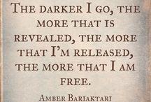 MY QUOTES -Amber Bariaktari