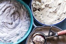 Ice cream, Curd and Creams