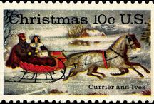 Christmas  Stamps Timbres