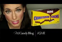 Candy ASMR / For those who love #candyASMR, @MsCandyBlog has a #YouTube channel just for #candy #ASMR: #MsCandyASMR.