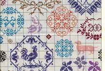 cross stitch: samplers