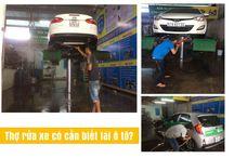 Thợ rửa xe ô tô