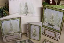 stampin' Up! lovely as a tree / Cards Christmas male birthday with stampin up lovely as a tree
