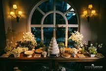 Decoração de casamento verde e branca / Casamentos clássicos com decoração em verde e branco.