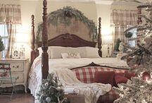 Christmas bedroom ...