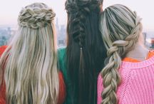 ••• Hairstyles ••• / Just some hairstyles that I like...