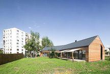 Barn Like Home in Slovakia / Martin Boles Architect / nowoczesna STODOŁA / Firma Martin Boles Architect jest autorem projektu domu, który został wybudowany dla rodziny z dwojgiem małych dzieci