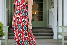 dresses / looking for the right printed maxi dress