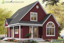 Ev modelleri / Çok güzel evler var