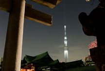 """Japan Tokyo Skytree / """"Tokyo Skytree (東京スカイツリー Tōkyō Sukaitsurī) is a broadcasting, restaurant, and observation tower in Sumida, Tokyo, Japan. It became the tallest structure in Japan in 2010 and reached its full height of 634.0 metres (2,080 ft) in March 2011, making it the tallest tower in the world, displacing the Canton Tower, and the second tallest structure in the world after Burj Khalifa (829.8 m/2,722 ft).""""  Wikipedia:  http://en.m.wikipedia.org/wiki/Tokyo_Skytree"""