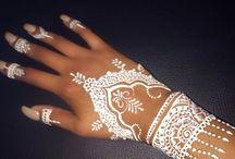 Henna/tattoos