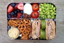 School lunch + snacks