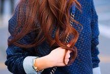 Hair + colour