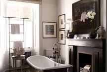 "2015 Trends: Centered Bathtubs / As part of the continuing ""bathroom as spa"" trend, large, well-designed tubs are becoming the center of attention: pulled away from the wall and treated like sculptures."