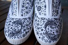 dibujos zapatillas