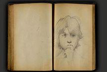Croquis - Dessins - Sketch / by Reliure et Compagnie
