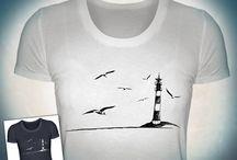 Norddeutschland Nordsee und Ostsee / Alles Nordeutsche auf Deinem Shirt - wie immer zu finden in meinem Shop: https://www.shirtee.com/de/store/sprachspiel