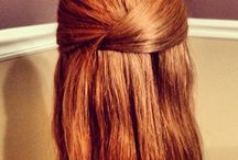 Hår / Rødt hår