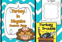 K - Turkeys and Thanksgiving / by Kelsey Franklin