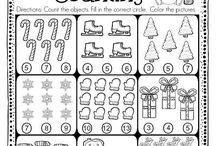 Téli foglalkoztatók/Winter worksheets