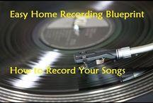 Easy Home Recording Blueprint