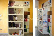 Showroom realizzati da StudioCentro Marketing