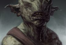 Creatures - Orcs, goblins and trolls