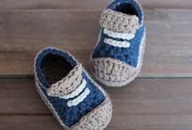 zapatitos de crochet
