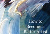How to become a better artists