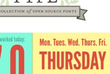 Great webfonts / by Jack Armley